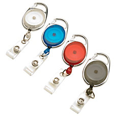 Swingline GBC Carabiner ID Badge Reel