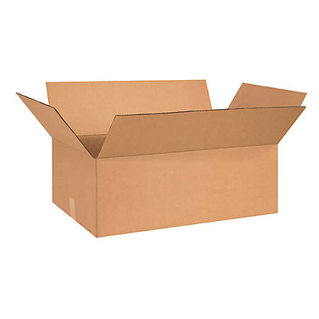27in(L) x 14in(W) x 9in(D) - Corrugated Shipping Boxes