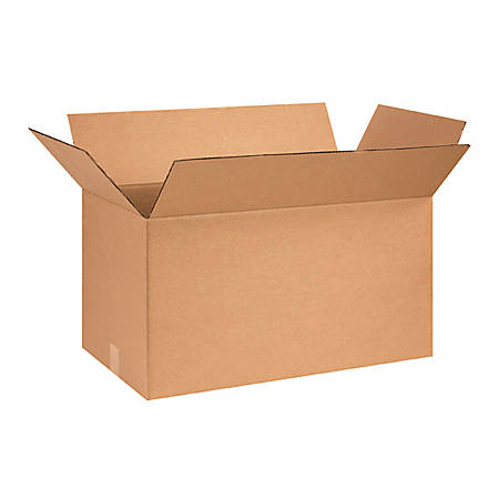 """Office Depot® Brand Corrugated Boxes 28"""" x 14"""" x 14"""", Bundle of 20"""