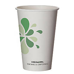 Highmark Renewable Hot Drink Cups 16
