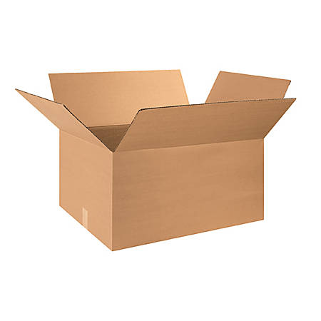 28in(L) x 18in(W) x 12in(D) - Corrugated Shipping Boxes