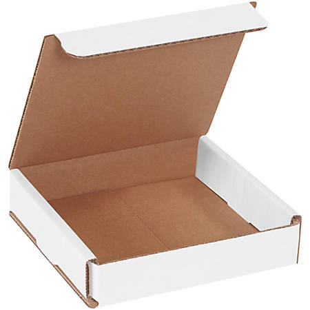 """Office Depot Brand Corrugated Mailers 5"""" x 5"""" x 1"""", Pack of 50"""
