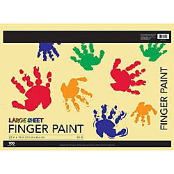 FORAY Finger Paint Paper 16 x