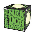 Nee Doh Glow-In-The-Dark Stress/Fidget Ball, Green