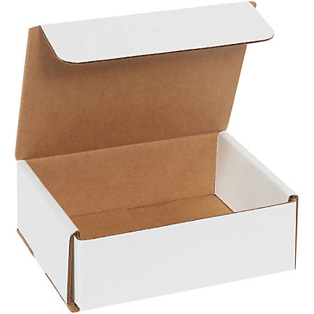 """Office Depot Brand Corrugated Mailers 6"""" x 5"""" x 2"""", Pack of 50"""