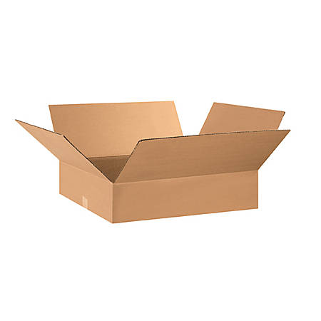 29in(L) x 17in(W) x 5in(D) - Corrugated Shipping Boxes