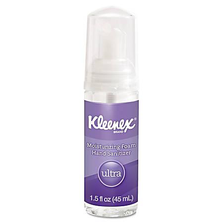 Kleenex® Ultra Moisturizing Unscented Foam Hand Sanitizer, 1.5 Oz