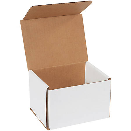 """Office Depot Brand Corrugated Mailers 6"""" x 5"""" x 4"""", Pack of 50"""