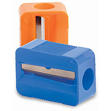 Baumgartens Single Hole Pencil Sharpeners Assorted