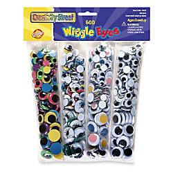 ChenilleKraft Wiggle Eyes Assortment Pack Of