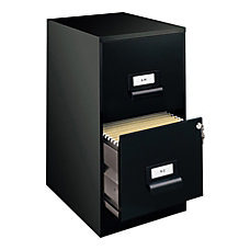 Realspace 18 D 2 Drawer Metal