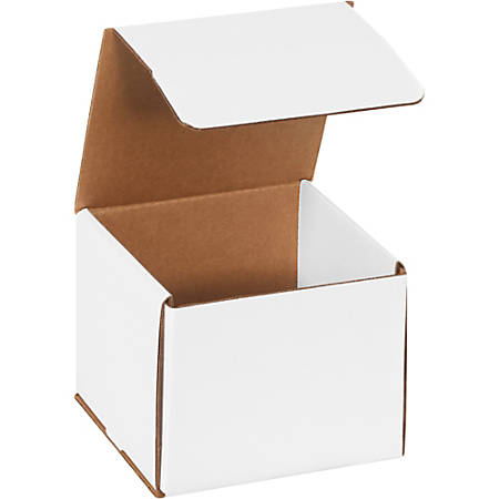 "Office Depot Brand Corrugated Mailers 6"" x 6"" x 5"", Pack of 50"