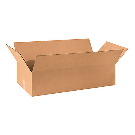 30in(L) x 14in(W) x 7in(D) - Corrugated Shipping Boxes