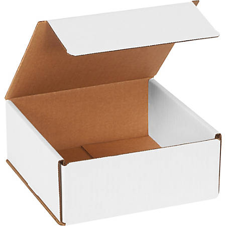 """Office Depot Brand Corrugated Mailers 7"""" x 7"""" x 3"""", Pack of 50"""