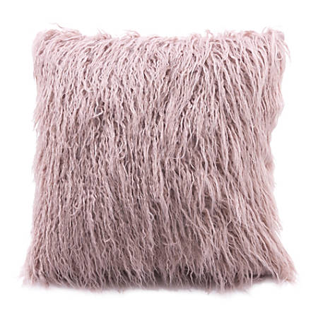 Zuo Modern Area Pillow, Dusty Pink