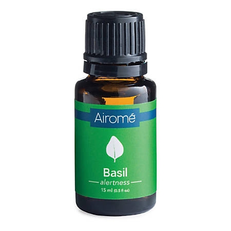 Airome Essential Oils, Basil, 0.5 Fl Oz, Pack Of 2 Bottles