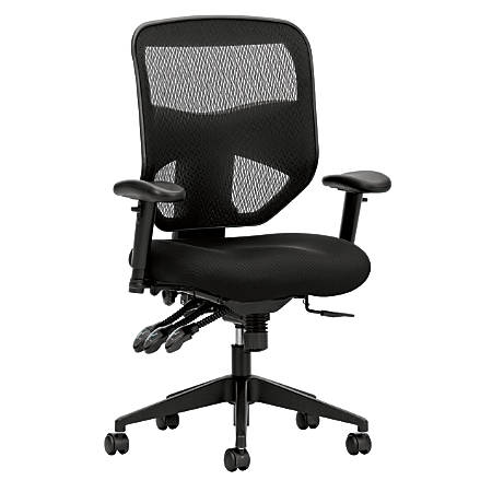 HON Prominent Mesh High-Back Task Chair, Black
