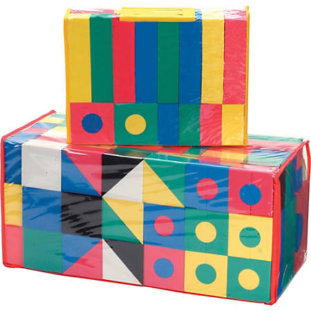 Creativity Street 152-piece Wonderfoam Blocks - Skill Developmental Toy