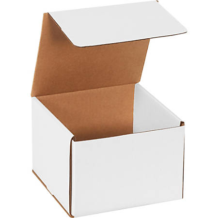 """Office Depot Brand Corrugated Mailers 7"""" x 7"""" x 5"""", Pack of 50"""