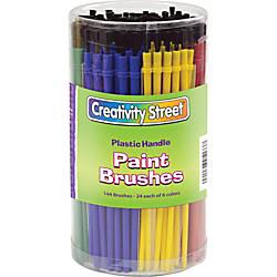ChenilleKraft Classroom Brush Canister Nylon Multicolor