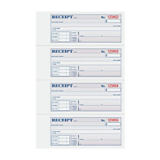 TOPS Manifold Receipt Book 3 Part