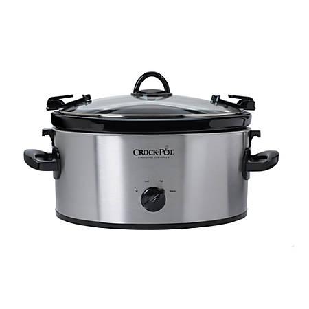 Crock-Pot® Cook & Carry™ Slow Cooker, Silver