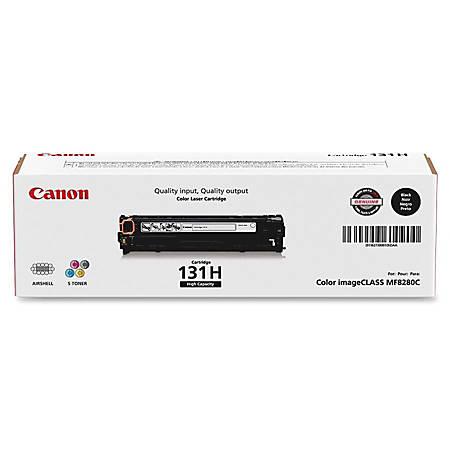 Canon 131 High-Yield Black Toner Cartridge (6273B001AA)