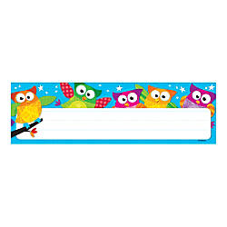 TREND Desk Toppers Name Plates Owl