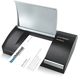 Dymo cardscan personal v9 business card scanner by office depot dymo cardscan personal v9 business card scanner reheart Images