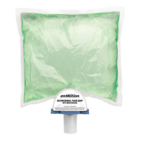 enMotion® Antimicrobial Foam Soap With Moisturizers, 40.58 Oz., Pack Of 2