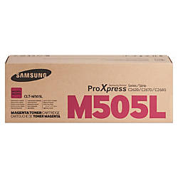 Samsung CLT M505L Magenta Toner Cartridge