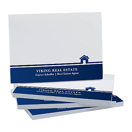 """Custom Full Color Post-it® Notes, 4"""" x 3"""", 50 Sheets Per Pad, Assorted Colors, Pack Of 6 Pads"""