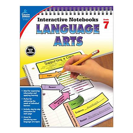 Carson-Dellosa Interactive Language Arts Notebook, Grade 7