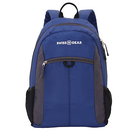 SwissGear Daypack Backpack BlueGray by Office Depot & OfficeMax