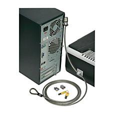 SKILCRAFT Computer Lock Down Kit Gray
