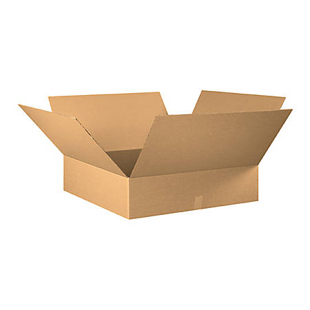 30in(L) x 30in(W) x 8in(D) - Corrugated Shipping Boxes