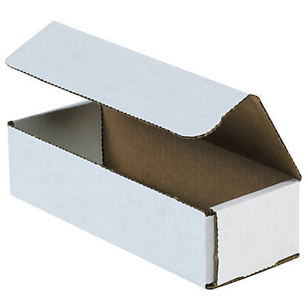 """Office Depot Brand Corrugated Mailers 8"""" x 2"""" x 2"""", Pack of 50"""