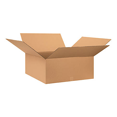 """Office Depot® Brand Corrugated Boxes 30"""" x 30"""" x 12"""", Bundle of 10"""
