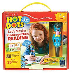 Hot Dots Jr Kndrgrtn Reading Set
