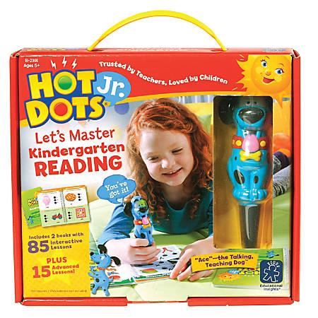 Hot Dots Kindergarten Reading Set Interactive Education Printed Book Interactive Printed Book - Book