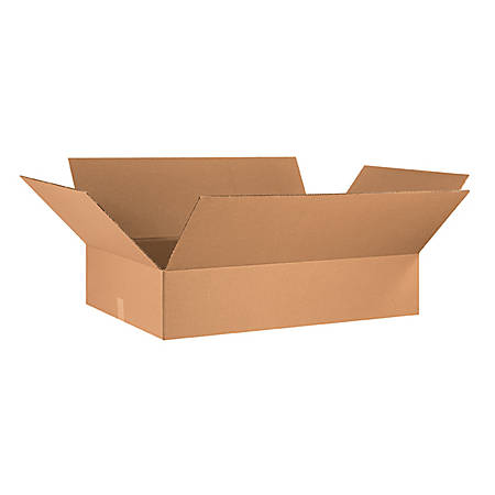 36in(L) x 24in(W) x 8in(D) - Corrugated Shipping Boxes