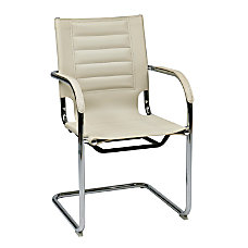 Ave Six Trinidad Guest Chair CreamSilver