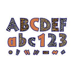 """Barker Creek® Letter Pop-Outs, 2"""", Africa, Set Of 676"""