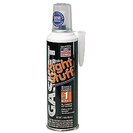 the Right Stuff Gasket Maker, 7 oz Automatic Tube, Black