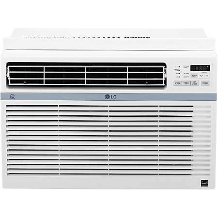 Lg window mounted air conditioner 8000 btu 12 716 h x 19 for 12 x 19 window air conditioner