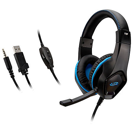 iLive Electronics IAHG19 Over-The-Ear Gaming Headphones
