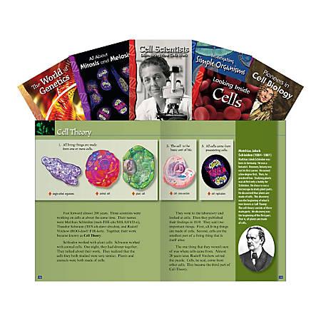 Teacher Created Materials Cellular Biology Book Set, Grades 6 - 8, Set Of 6 Books