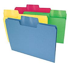 Smead Erasable SuperTab File Folders Letter