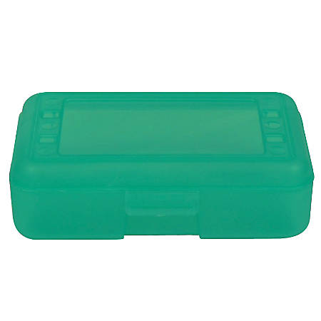 """Romanoff Products Pencil Boxes, 8 1/2""""H x 5 1/2""""W x 2 1/2""""D, Lime, Pack Of 12"""