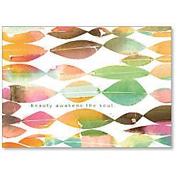 Viabella Blank Note Greeting Card Beauty
